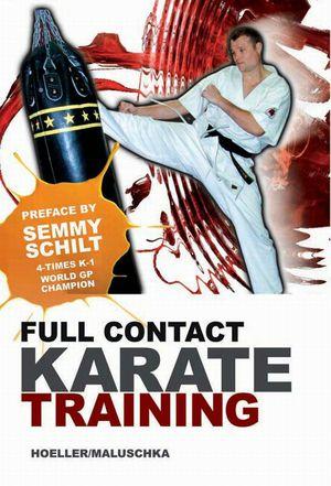 Full contact karate training