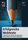 Vergrößerte Darstellung Cover: Erfolgreiche Webtexte. Externe Website (neues Fenster)