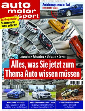 auto motor und sport (08/2020)