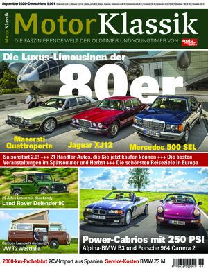 Motor Klassik (09/2020)