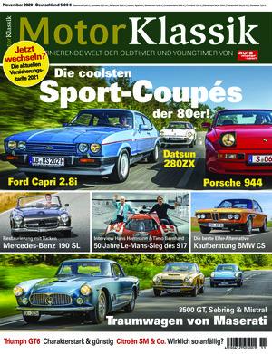 Motor Klassik (11/2020)