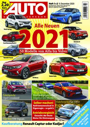 Auto Straßenverkehr (01/2021)