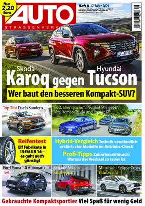 Auto Straßenverkehr (08/2021)