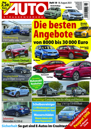 Auto Straßenverkehr (19/2021)
