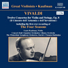 12 Violinkonzerte, Op. 8 / The Four Seasons (Die vier Jahreszeiten) (Kaufman) (1947, 1950)