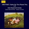 Suiten für 2 Klaviere Nr. 1 - 5