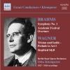 Brahms ; Wagner (Otto Klemperer)