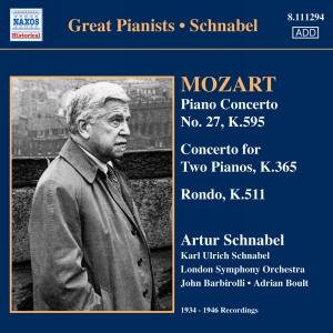 Piano concerto No. 27, K.595