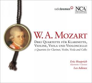 Drei Quartette für Klarinette, Violine, Viola und Violoncello