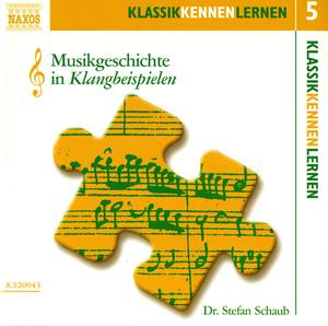 Musikgeschichte in Klangbeispielen