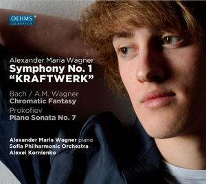"Symphony No. 1, ""Kraftwerk"" / Chromatic Fantasy / Piano Sonata No. 7"