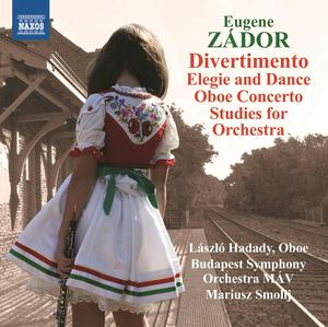 Divertimento / Elegie and dance / Oboe concerto / Studies for orchestra