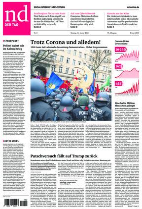 Neues Deutschland (11.01.2021)