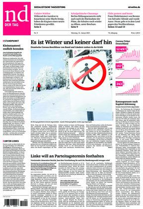 Neues Deutschland (12.01.2021)