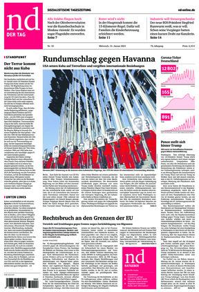 Neues Deutschland (13.01.2021)