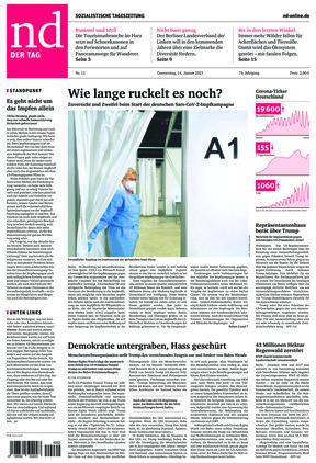 Neues Deutschland (14.01.2021)