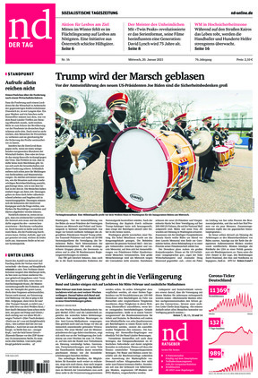 Neues Deutschland (20.01.2021)