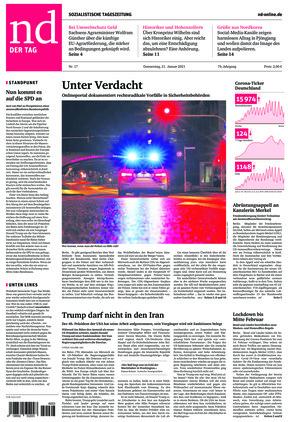 Neues Deutschland (21.01.2021)