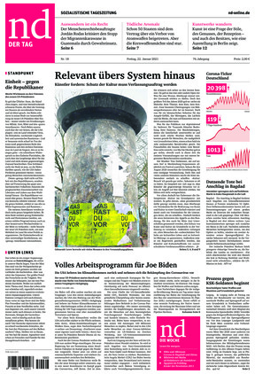 Neues Deutschland (22.01.2021)
