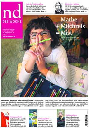 Neues Deutschland (23.01.2021)