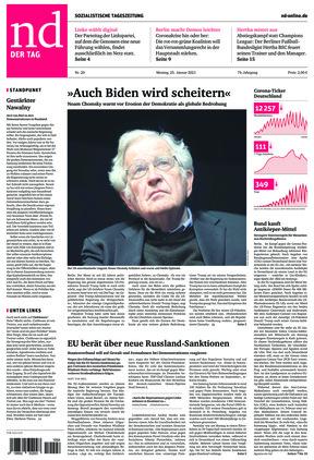 Neues Deutschland (25.01.2021)