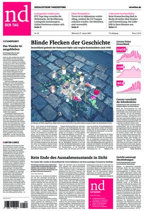 Neues Deutschland (27.01.2021)
