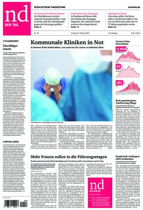 Neues Deutschland (26.02.2021)