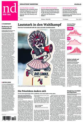 Neues Deutschland (01.03.2021)