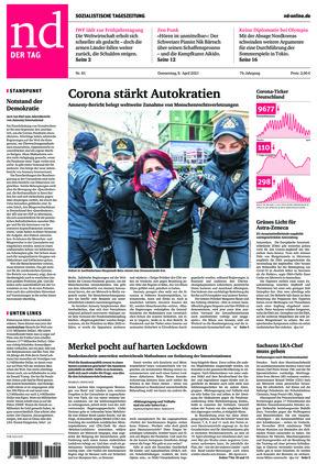 Neues Deutschland (08.04.2021)