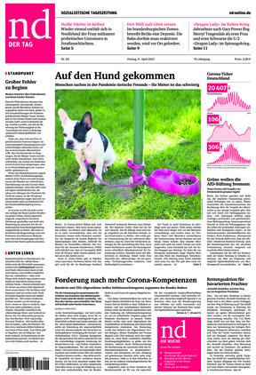 Neues Deutschland (09.04.2021)