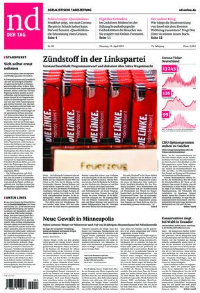 Neues Deutschland (13.04.2021)