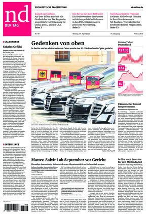 Neues Deutschland (19.04.2021)