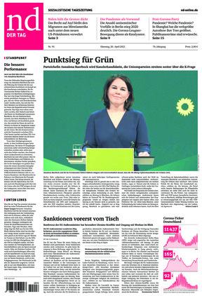 Neues Deutschland (20.04.2021)