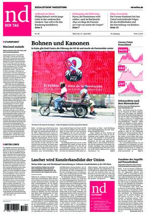 Neues Deutschland (21.04.2021)