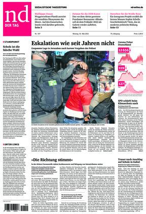 Neues Deutschland (10.05.2021)