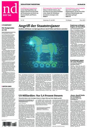Neues Deutschland (10.06.2021)