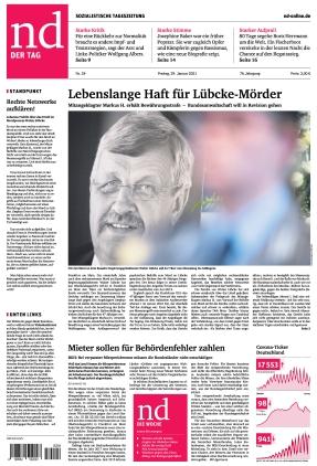 Neues Deutschland (15.06.2021)