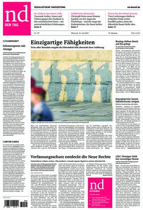 Neues Deutschland (16.06.2021)
