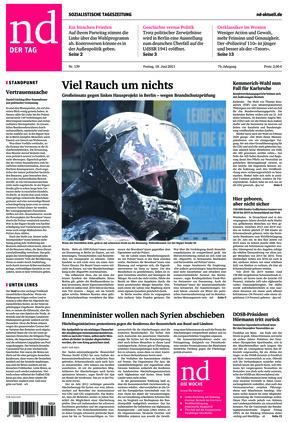 Neues Deutschland (18.06.2021)