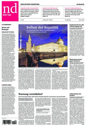 Neues Deutschland (20.07.2021)
