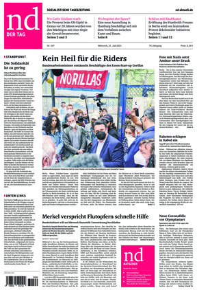 Neues Deutschland (21.07.2021)