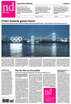 Neues Deutschland (23.07.2021)