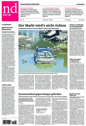 Neues Deutschland (27.07.2021)