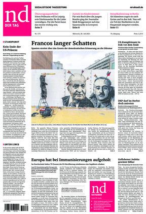 Neues Deutschland (28.07.2021)