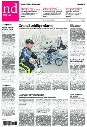 Neues Deutschland (29.07.2021)