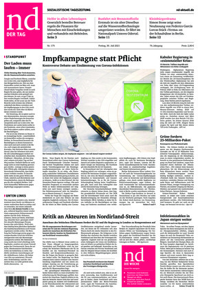 Neues Deutschland (30.07.2021)