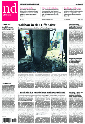 Neues Deutschland (02.08.2021)