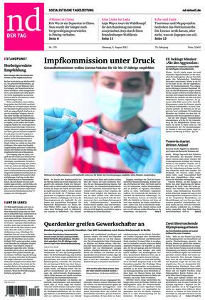 Neues Deutschland (03.08.2021)