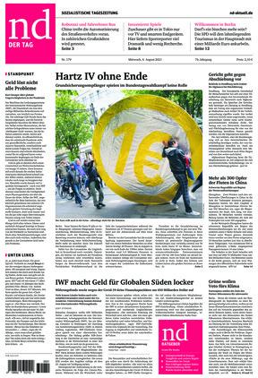 Neues Deutschland (04.08.2021)