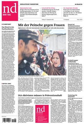 Neues Deutschland (10.09.2021)